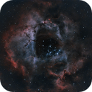 Rosette Nebula - OSC - L-eXtreme - 28x480s - processed 2021-09-04 - RGB,                                Christopher G. Miller