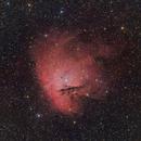 NGC 281 - HaRGB - wide field,                                Roberto Botero