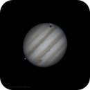 Jupiter, Io and Ganymede. Animation,                                Alexander Sorokin