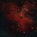 Messier 16 - The Eagle Nebula,                                  Rich Sky