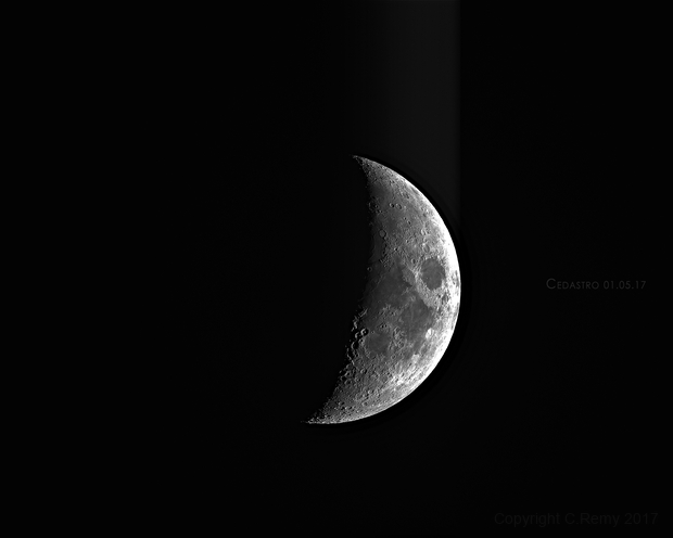 Croissant de lune,                                Cedric