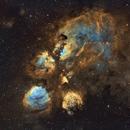 Cat's Paw Nebula in SHO,                                Diego Gravinese