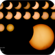 Shots from Partial Solar Eclipse from France,                                Mathieu Bertholet