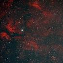 NGC6888 & IC1318 Bicolour,                                christianhanke