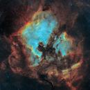 North America and Pelican Nebula in SHO,                                Lancelot365
