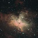 M 16 - Eagle Nebula,                                Greg Wesson