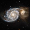 M51 Whirlpool Galaxy,                                  Jeff