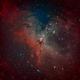 M16 Eagle Nebula w/ PixInsight,                                Brett Creider