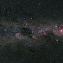 Southern Cross and Milky Way,                                Wei-Hao Wang