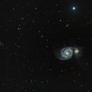 Whirlpool Galaxy and friends,                                Frank Kane