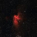 NGC7380 Wizard Nebula is HaLRGB,                                Paweł Radomski
