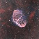 Crescent nebula,                                Chassaigne