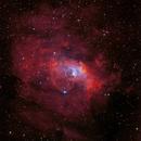 NGC 7635 - The Bubble Nebula Narrow Band,                                Thomas Klemmer