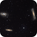 The Leo Triplet (M65, M66, and NGC 3628) LRGB,                                  Bogdan Jarzyna