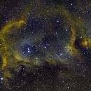 Soul Nebula IC1848,                                CitySpace Astro