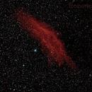 California Nebula (NGC 1499),                                Roberto Frassi