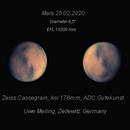 """Mars 25.02.2020, 6,5"""",                                Uwe Meiling"""