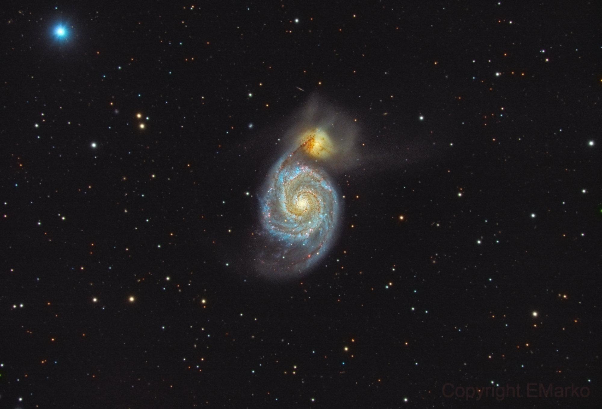 M51 (Canes Venatici),                                Marko Emeršič