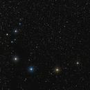 Corona Australis and Telescopium constelations,                                Harold Freckhaus
