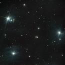 Three of the Seven Sisters: Pleiades - M45,                                adm