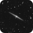 NGC4565 – Needle Galaxy Luminance only,                                Adam Cseh