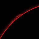 Sun, prominences, 15 Aprile 2020,                                Ennio Rainaldi