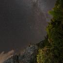 Milky Way over the Alps,                                Lorenzo Palloni