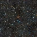 LBN 126 & Sh2-187 - Dark and Emission Nebula in Constellation Cassiopeia,                                Falk Schiel