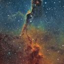IC1396 - Elephant Trunk Narrowband Hubble Palette,                                  Tim Hutchison
