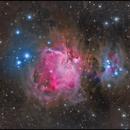 m42 with ok Trapezium (Take a look at the full resolution),                                Ola Skarpen SkyEyE