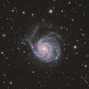 M101 Pinwheel Galaxy LHaRGB Wide Field,                                Jesse Priolo