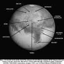 CRATERES DE MARS 01 10 2020 1H18 NEWTON 625 MM BARLOW 5 FILTRE IR 742 QHY5III 178M 120% LUC CATHALA,                                CATHALA Luc
