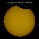 éclipse du 10/06/2021,                                Pouget