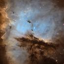 NGC 281: The Pacman Nebula,                                Thomas Edward Christian, Jr.