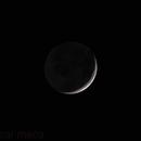 Almost full Earth from the moon - Luz Cenicienta,                                Oscar Meca