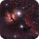 First attempt at Horsehead and Flame Nebulae.,                                Gowri Visweswaran