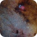 Messier 24 Star cloud and IC1284,                    Roberto Colombari