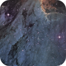 IC5070 Pelican Nebula in Hubble Palette with DSLR,                    Nightsky_NL