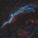 NGC 6960 in SHO,                                kaeouach aziz