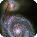 M51 processing from HLA data,                                Luc Germain