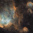 IC 2944 - Running Chicken Nebula (SHO) with RGB stars,                                Ruben Barbosa