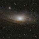 M31 Andromeda Galaxy,                                BFinger