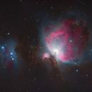 M42 Great Orion Nebula & Running Man,                                George Pappayliou