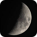 Moon 40 % Illuminated,                                Siegfried