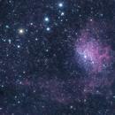 The Flaming Star Nebula,                                  Jon Smith