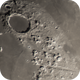Plato crater & Valles Alpes region of the 9 day old Moon,                                gary259
