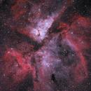 eta Car nebula, NGC 3372,                                Yann-Eric BOYEAU