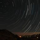 Star trails over Arroyo Coche, Spain,                                Stuart Goodwin