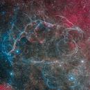 Vela SN Remnant in SHORGB,                                Scotty Bishop