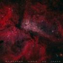 Carina Nebula,                                Delberson